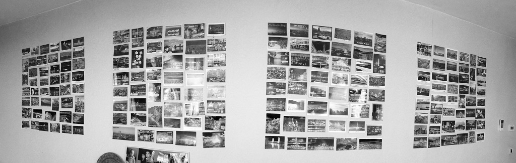 postcards-wall
